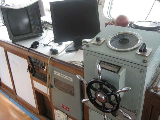 Controls, Helm, Bridge