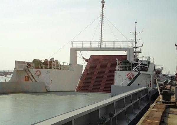 Landing Craft's Deck